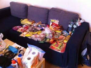 Náš nákup jídla