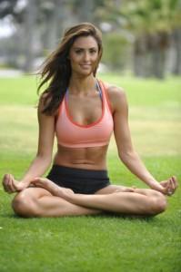 Průměrná účastnice kurzu jógy